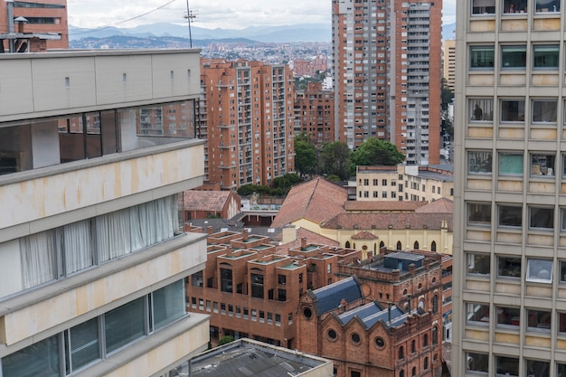 The architecture in bogotá