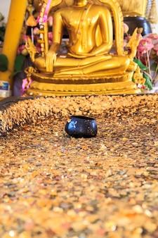 Architecture buddhist artwork spectacular temple  in thailand.