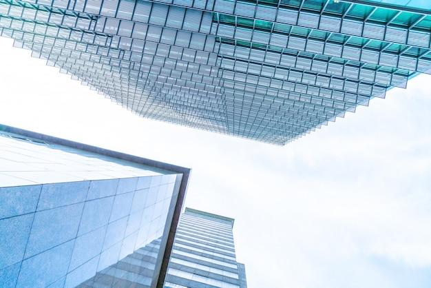 Architecture business office building exterior skyscraper