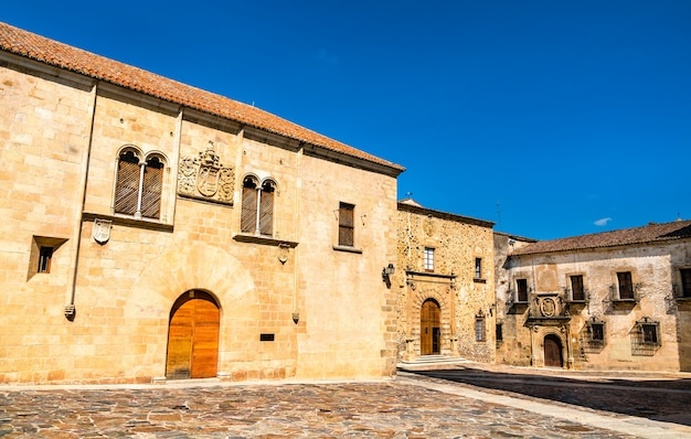 Architecture of caceres in spain