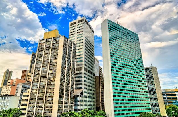 Architecture of downtown rio de janeiro