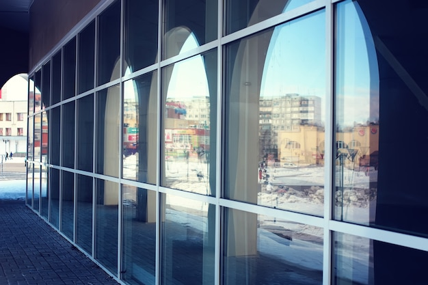 Архитектурные стеклянные арки