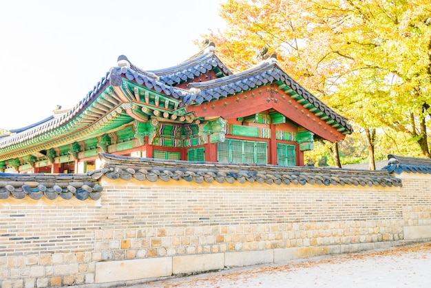 서울에서 창덕궁 건축