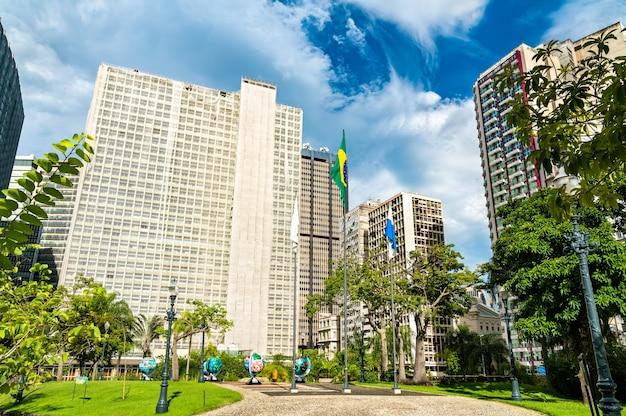 リオデジャネイロのダウンタウンの建築