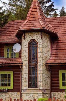 Архитектура дома за городом