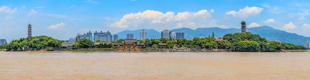 Architecture skyline of wenzhou, zhejiang
