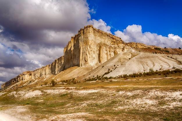 The area in the crimea called belaya scala, white rock
