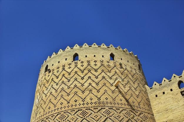 Цитадель арг в городе шираз иран