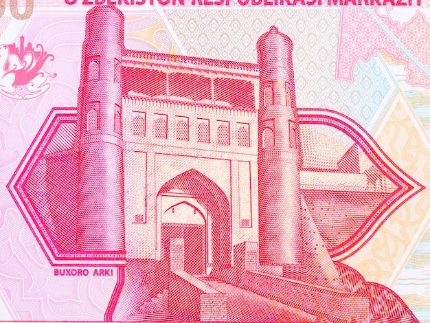 우즈베키스탄 돈에서 부하라의 방주 성채