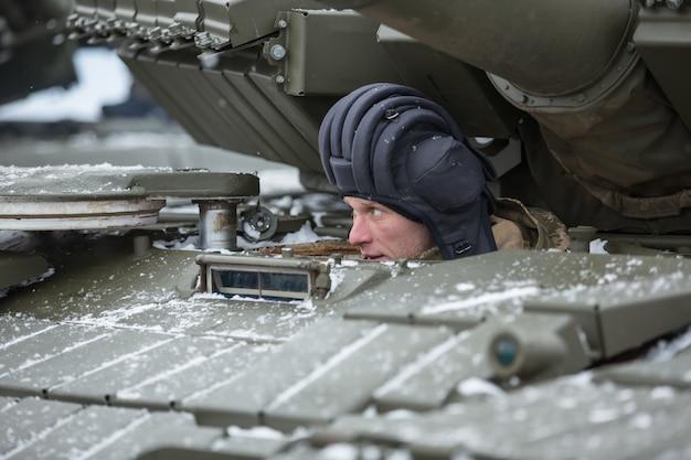 ウクライナの軍隊。