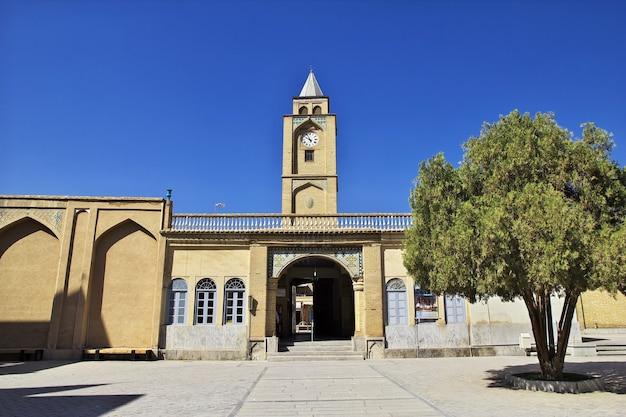 イラン、イスファハンのアルメニアのヴァンク大聖堂