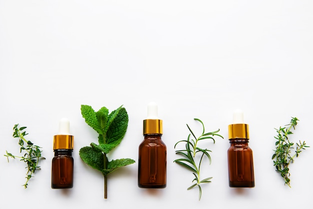 Aroma oil with herbs