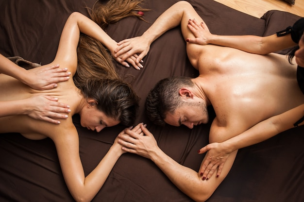 Aromatherapy massage is massage therapy using massage oil or lotion that contains essential oils