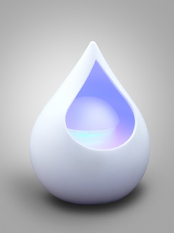 Aromatherapy modern diffuser with light