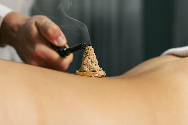 Sessione di aromaterapia