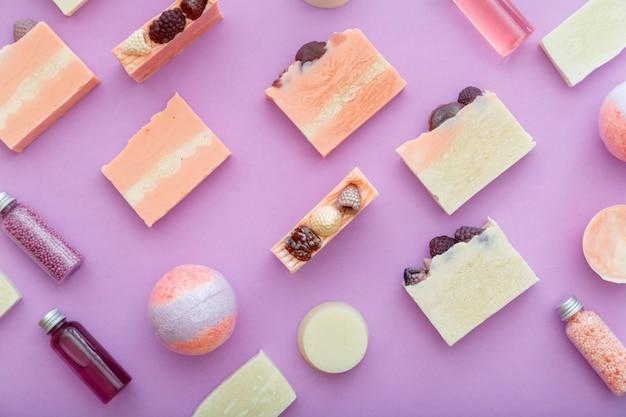 아로마 테라피 비누 위생 세면 용품 목욕 미용 화장품 바디 스킨 케어 웰빙에 대 한 패턴