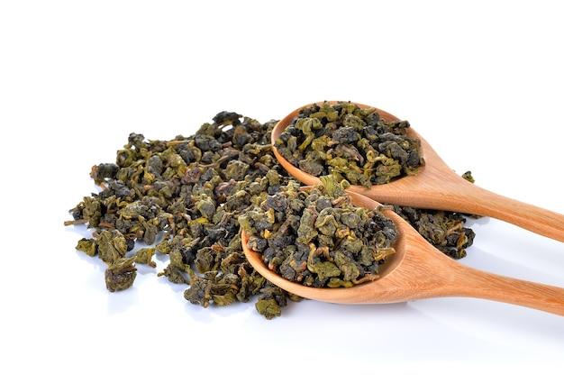 分離された芳香族乾燥緑茶