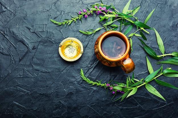 芳香族ヤナギラン茶