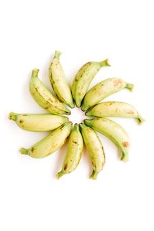 バナナをアレンジ。創造的な食品のコンセプト