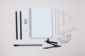 Arranged engineering objects for school