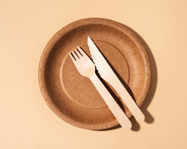 Arrangement of eco friendly objects