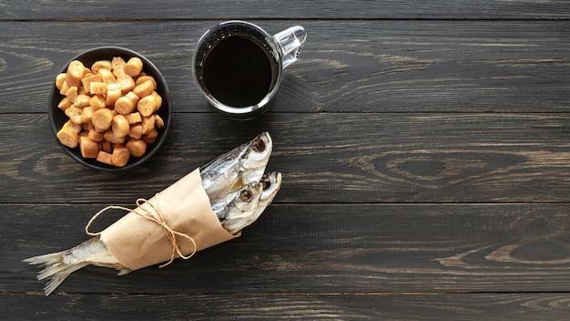 Disposizione di frutti di mare sani