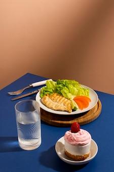 おいしい健康食品のアレンジメント