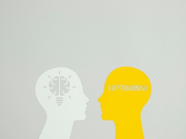 Расположение элемента оптимизма с копией пространства