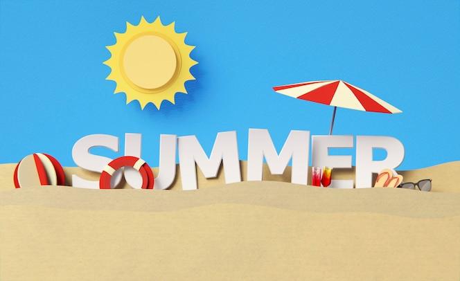 Композиция из элементов летнего натюрморта