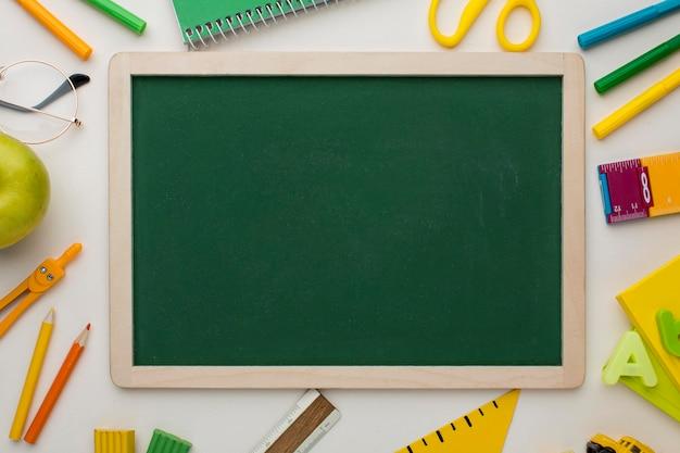 教師の日の要素の配置