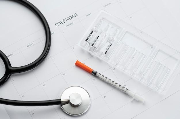 Размещение элементов вакцинации против covid19