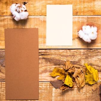 Arrangement of wedding invitation elements