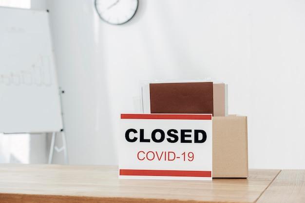 Covid19 표시 및 상자 배치