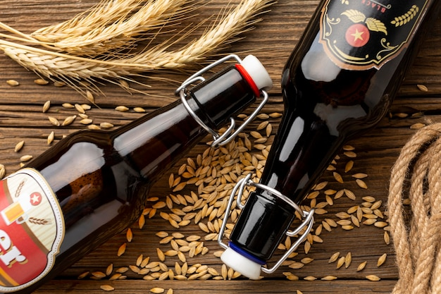 Accordo con gustosa birra americana