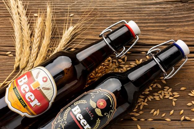 Композиция со вкусным американским пивом