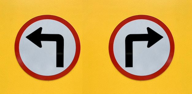 白で隔離される矢印記号