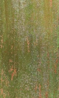 緑と古い金色の色合いのアート抽象的なグランジ緑のペンキの背景