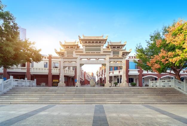 아트 아치, 중국 고전 건축 스타일.