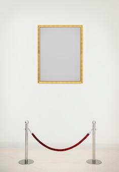 Art gallery antique frame concept