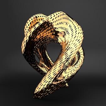 Art modern object installation