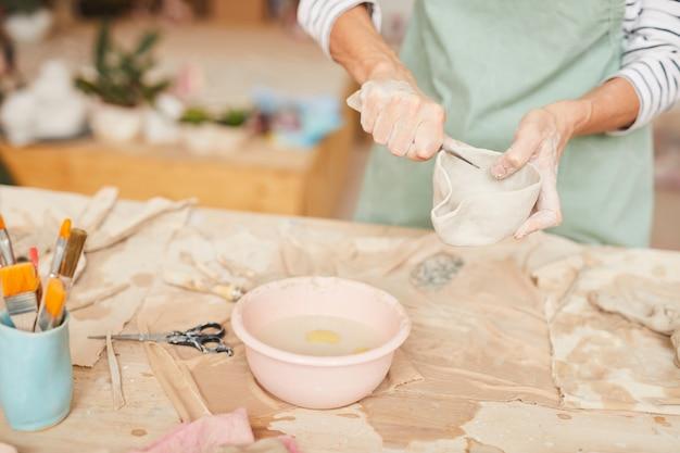 Искусство керамики Premium Фотографии