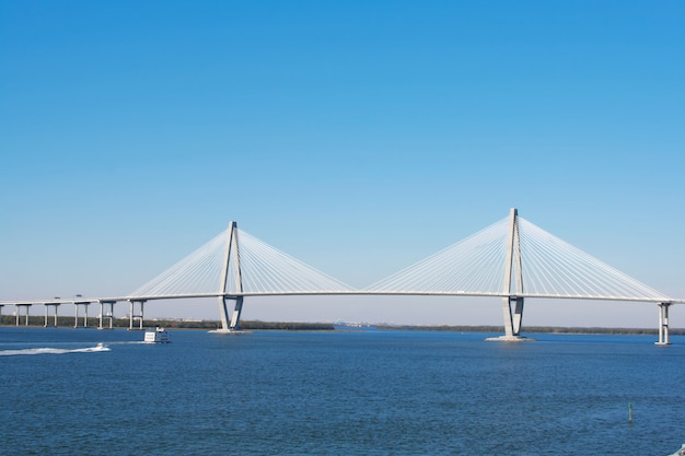 Arthur ravenel bridge in charleston, usa