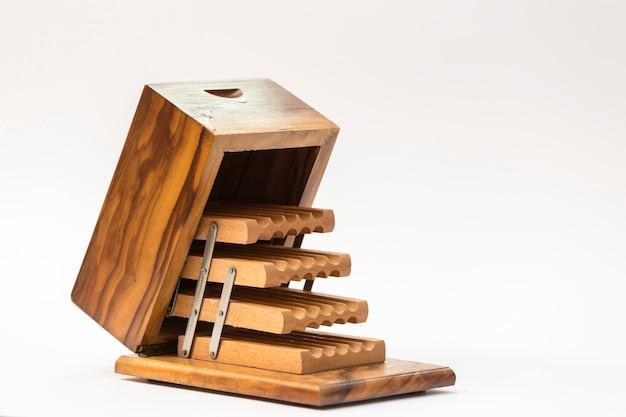 関節式木製シガレットケース