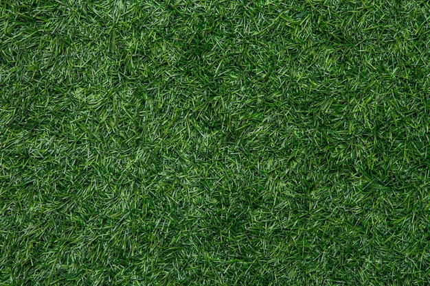 Artificial grass field for background and texture