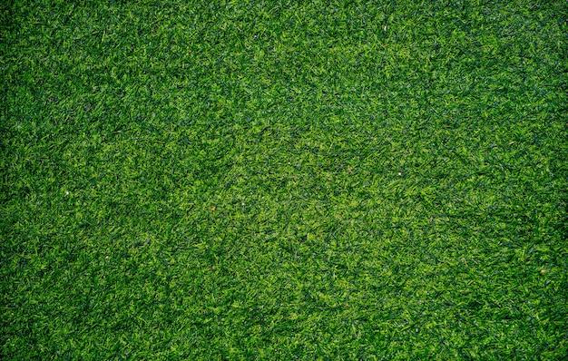 Artificial grass texture, closeup shot.