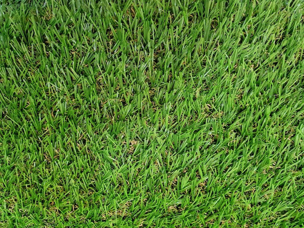 Artificial green grass background and texture