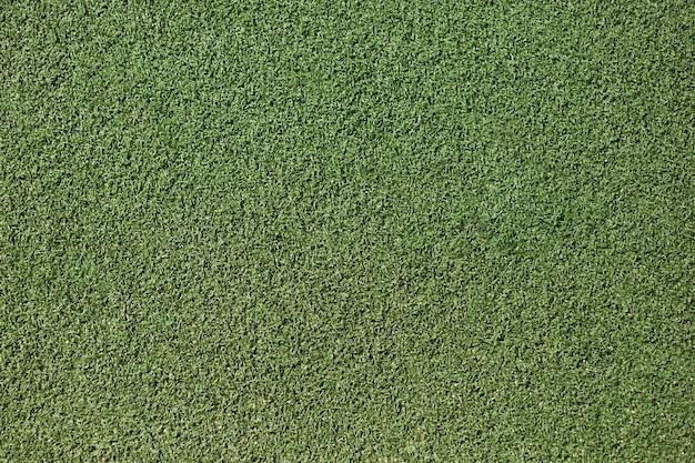 인공적인 녹색 잔디 클로즈업