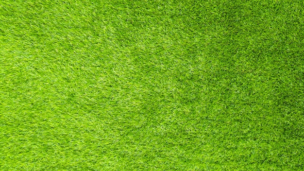 The artificial green grass pattern texture.
