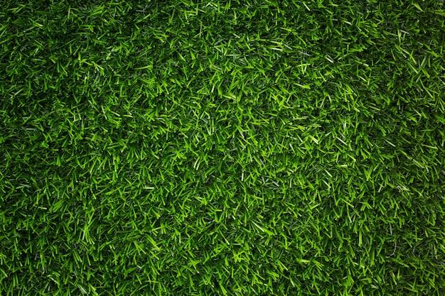 Artificial green grass texture for background