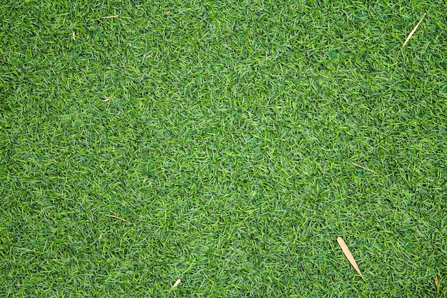 Artificial green grass texture can be use as background